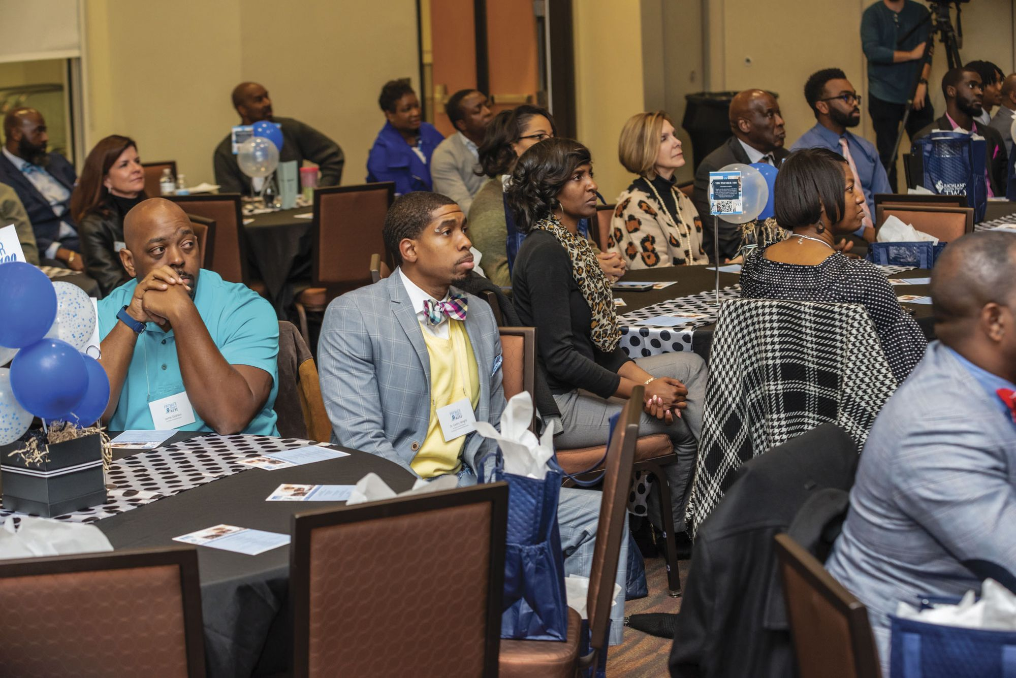 Image: A community meeting in Richland County School District Two